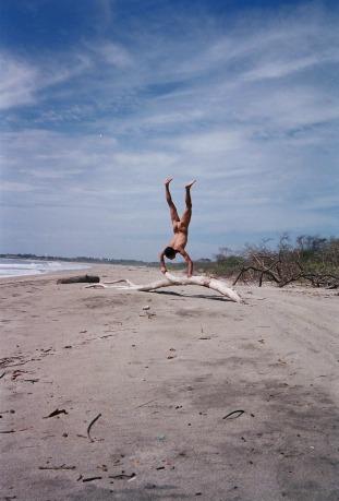 dip_driftwood handstand